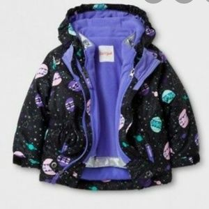 NEW Space Winter Coat w/ Extra Detachable Puffer